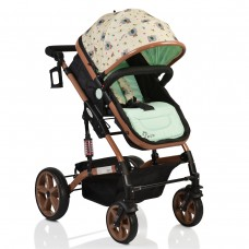 Cangaroo Baby Stroller Pavo mint