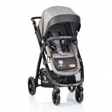 Cangaroo Baby Stroller Stefanie 2 in 1, grey