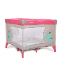 Cangaroo Travel cot Giant pink