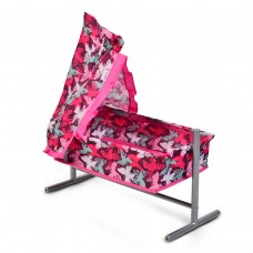 Cangaroo Cot for dolls Butterfly