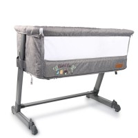 Cangaroo Bassinet Shared Love Grey