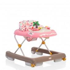 Cangaroo Baby Walker Dino pink