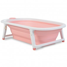 Cangaroo Folding Baby bath Carribean pink
