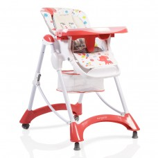 Cangaroo Baby High Chair Mint Red
