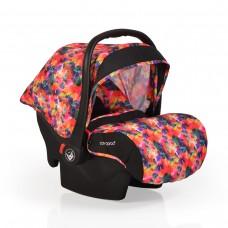 Cangaroo Детско столче за кола 0-13 кг с адаптори Stefanie цветен