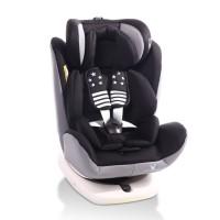 Cangaroo Столче за кола Pilot (0 - 36 кг) сива кожа черен