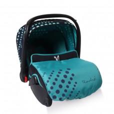 Cangaroo Детско столче за кола 0-13 кг Rachel сини точки