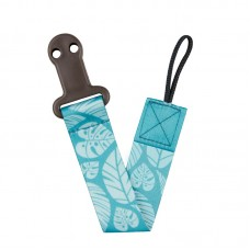 Canpol Soother Clip with Ribbon Exotic Animals