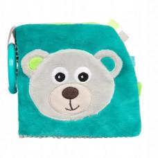 Canpol babies Soft Activity Book Bear, blue