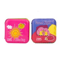 Canpol Soft Activity Book with Squeaker Day and Night (2 pcs)