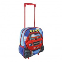 Cerda 3D Small backpack on wheels Blaze