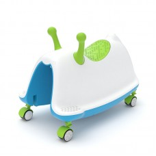 Chillafish Ride on toy Trackie, Green
