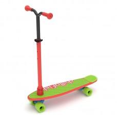 Chillafish Тротинетка/скейт SkatieScootie 2 в 1, RedMix