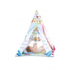 Chipolino 2 in 1 Musical activity play mat / play camp Zig Zag