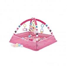 Chipolino Activity play mat Birdie, pink