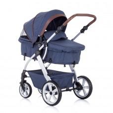 Chipolino Baby stroller Fama 2 in 1, denim