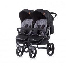 Chipolino Twin stroller Twix onyx