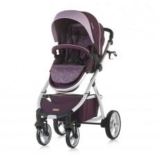Chipolino Baby Stroller Up & Down, Amethyst