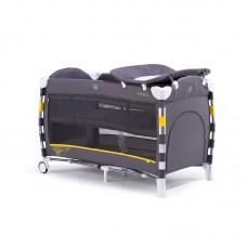 Chipolino Foldable travel cot Omnia, mist