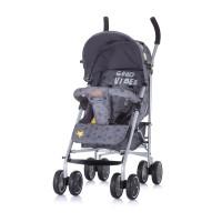 Chipolino Emoji Baby Stroller graphite
