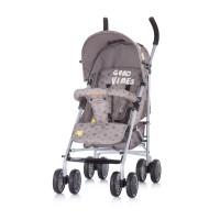 Chipolino Emoji Baby Stroller mocca