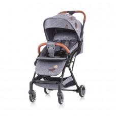 Chipolino Oreo Baby Stroller grey denim