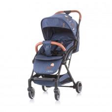 Chipolino Oreo Baby Stroller blue denim