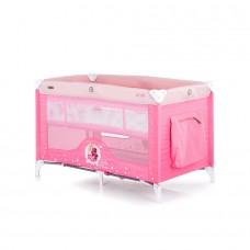Chipolino Play pen and crib Ariel pink