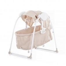 Chipolino Baby sleeping bed - cradle Gia, latte