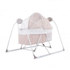 Chipolino Baby sleeping bed - cradle Laguna, latte