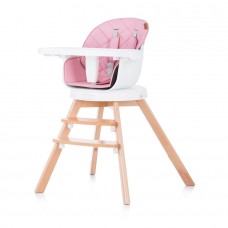 Chipolino Rotatable High chair 3 in 1 Rotto orchid