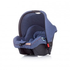 Chipolino Car seat with adaptors Fama denim