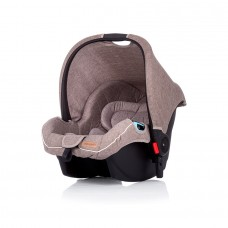 Chipolino Car seat with adaptors Fama mocca