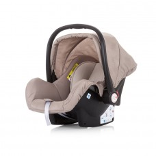 Chipolino Car seat Havana 0-13 kg with adapter mocca