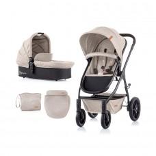 Chipolino Baby Stroller Avia 2 in 1 mocca linen
