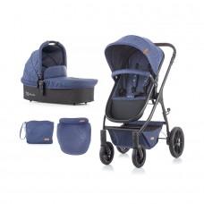 Chipolino Baby Stroller Avia 2 in 1  blue linen