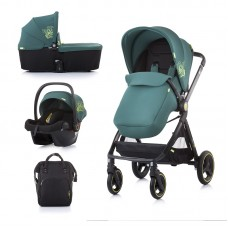 Chipolino Бебешка количка Елит 3 в 1 до 22 кг, бор