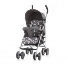 Chipolino Emoji Baby Stroller granite linen