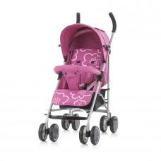Chipolino Emoji Baby Stroller rose linen