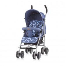 Chipolino Emoji Baby Stroller navy linen