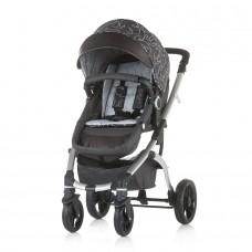 Chipolino Baby Stroller Malta granite grey