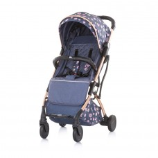 Chipolino Vibe Baby Stroller denim rose