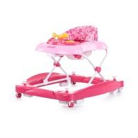 Chipolino Musical baby walker 3 in 1 Hellix, dhalia