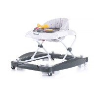 Chipolino Musical baby walker 3 in 1 Hellix, mist