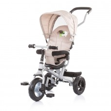 Chipolino Tricycle with canopy 360 seat MaxRide beige
