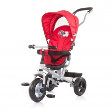 Chipolino Tricycle with canopy 360 seat MaxRide red
