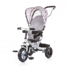Chipolino Tricycle with canopy 360 seat MaxRide grey