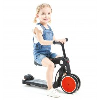 Chipolino Kids toy 4in1 scooter/tricycle/balance/ride All Ride red