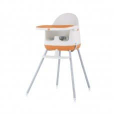 Chipolino High chair 3 in 1 Pudding, orange