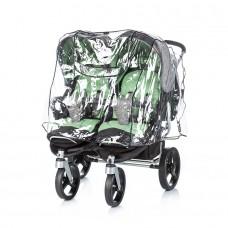 Chipolino Дъждобран за количка за близнаци